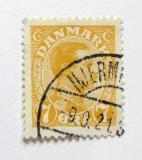 Poštovní známka Dánsko 1918 Král Christian X. Mi# 97