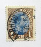 Poštovní známka Dánsko 1922 Král Christian X. Mi# 128