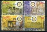 Poštovní známky Papua Nová Guinea 2007 Rotary International, 50. výročí Mi# 1260-63 Kat 11€