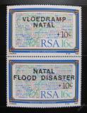 Poštovní známky JAR 1987 Povodně v Natalu Mi# 719-20