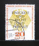 Poštovní známka Západní Berlín 1957 Německá rada Mi# 175