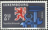 Poštovní známka Lucembursko 1960 Řemeslné umění Mi# 622