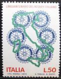 Poštovní známka Itálie 1973 Rotary International Mi# 1430