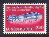 Poštovní známka Lucembursko 1958 Mezinárodní výstava Mi# 582