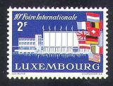Poštovní známka Lucembursko 1958 Mezinárodní veletrh Mi# 581