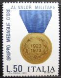 Poštovní známka Itálie 1973 Medaile za statečnost Mi# 1432