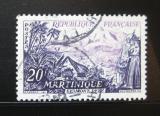 Poštovní známka Francie 1955 Mount Pelée Mi# 1069