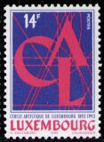 Poštovní známka Lucembursko 1993 Umělecký kruh Mi# 1328