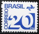 Poštovní známka Brazílie 1972 Nominální hodnota Mi# 1343