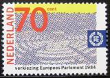 Poštovní známka Nizozemí 1984 Volby do parlamentu Mi# 1245