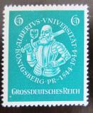 Poštovní známka Německo 1944 Albert I. Mi# 896