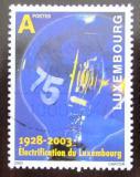Poštovní známka Lucembursko 2003 Elektrifikace Mi# 1610