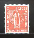 Poštovní známka Německo 1955 WESTROPA Mi# 218 Kat 13€