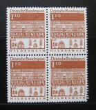 Poštovní známky Německo 1966 Hildesheim, čtyřblok Mi# 501