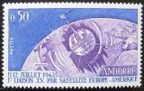 Poštovní známka Andorra Fr. 1962 Telstar Mi# 178