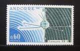Poštovní známka Andorra Fr. 1966 Satelit FR-1 Mi# 197