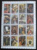 Poštovní známky Adžmán 1973 Život Kristův Mi# 2797-2812