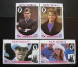 Poštovní známky Montserrat 1986 Královská svatba Mi# 638-41