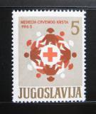 Poštovní známka Jugoslávie 1965 Červený kříž, pošt. Mi# 31