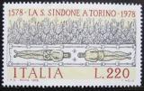Poštovní známka Itálie 1978 Turínské plátno Mi# 1623