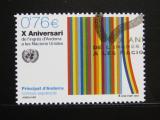 Poštovní známka Andorra Šp. 2003 Vstup do OSN Mi# 303