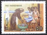 Poštovní známka Itálie 1979 Léčba malomocenství Mi# 1638