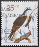Poštovní známka Německo 1973 Pták Mi# 754