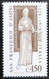 Poštovní známka Itálie 1976 Svatý František Mi# 1540