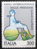 Poštovní známka Itálie 1981 Mezinárodní rok invalidů Mi# 1744