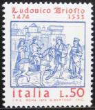 Poštovní známka Itálie 1974 Lodovico Ariosto, básník Mi# 1462