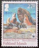 Poštovní známka Falklandské ostrovy 2011 Lachtani Mi# 1143