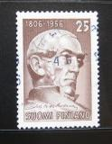 Poštovní známka Finsko 1956 Johan V. Snellman Mi# 455