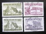Poštovní známky Finsko 1956-57 Architektura SC# 336-38A