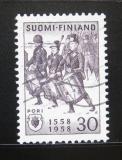 Poštovní známka Finsko 1958 Bjorneborg, 400. výročí Mi# 491
