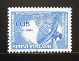 Poštovní známka Finsko 1965 ITU, 100. výročí Mi# 605