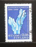 Poštovní známka Finsko 1966 Školní systém Mi# 612