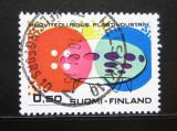 Poštovní známka Finsko 1971 Výroba plastů Mi# 697