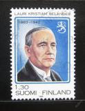Poštovní známka Finsko 1983 Prezident Relander Mi# 928