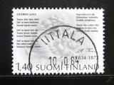 Poštovní známka Finsko 1984 Aleksis Kivi, spisovatel Mi# 951
