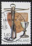 Poštovní známka Finsko 1984 Státní muzeum Mi# 942