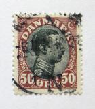 Poštovní známka Dánsko 1919 Král Christian X Mi# 105