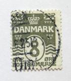 Poštovní známka Dánsko 1921 Nominální hodnota Mi# 119