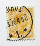 Poštovní známka Dánsko 1925 Král Christian X Mi# 149