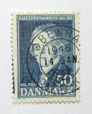 Poštovní známka Dánsko 1951 Hans Ch. Orsted Mi# 325
