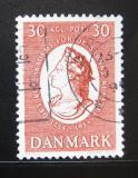 Poštovní známka Dánsko 1954 Král Frederik V Mi# 352