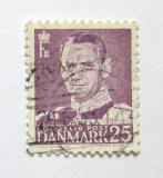 Poštovní známka Dánsko 1955 Král Frederik IX. Mi# 355