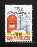 Poštovní známka Dánsko 1986 Mezinárodní kongres PTT Mi# 877