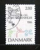 Poštovní známka Dánsko 1986 Sportovní klub Mi# 871