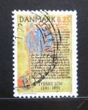 Poštovní známka Dánsko 1991 Jutský zákoník Mi# 1002