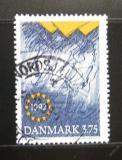 Poštovní známka Dánsko 1992 Jednotný evropský trh Mi# 1038